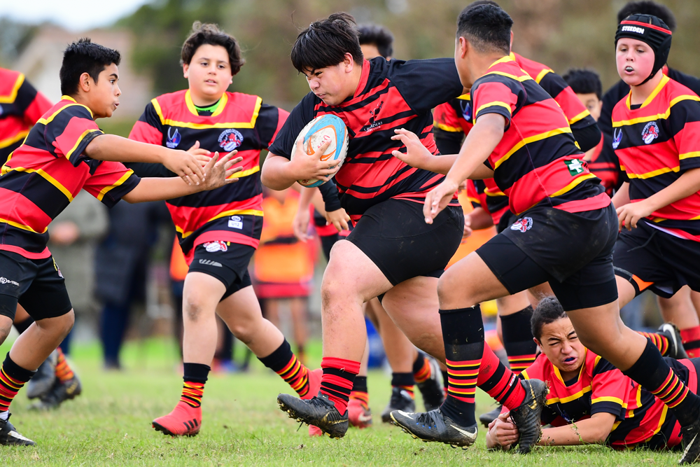 Action from a fixture against Northern Panthers earlier this season. Photo: Rugby AU Media/Stuart Walmsley