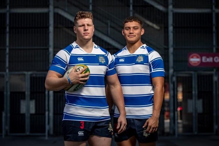 Reesjan Pasitoa (right) is a highly-rated rising star. Photo: Getty Images