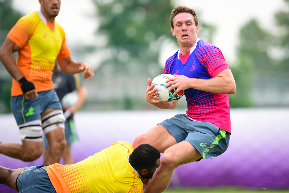 Dane Haylett-Petty has been strong in his outings in Hodge's absence. Photo: RUGBY.com.au/Stuart Walmsley