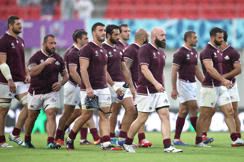 Georgia want to pull off an upset in Shizuoka. Photo: Getty Images