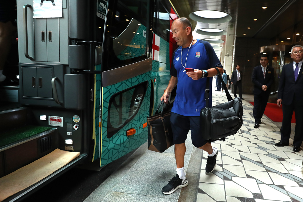 England travelled south on Thursday. Photo: Getty Images