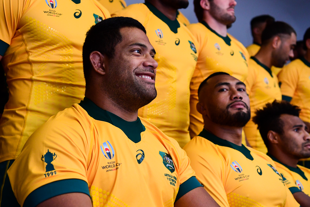 There has been plenty of competition for the Wallabies' front row spots this season. Photo: RUGBY.com.au/Stuart Walmsley