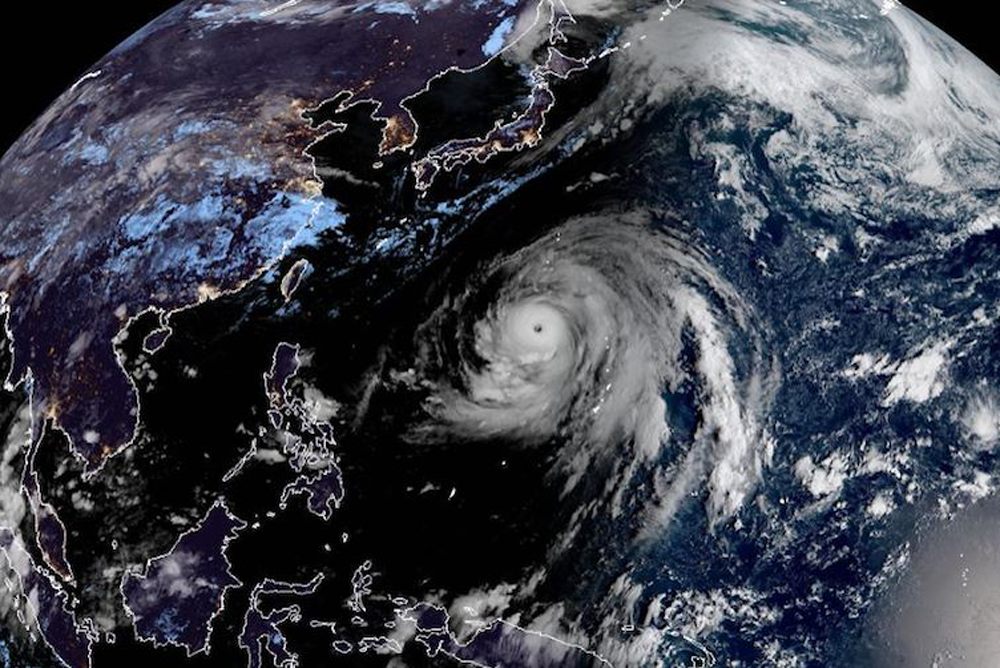 Typhoon Hagibis is predicted to hit Tokyo on Saturday. Photo: Supplied