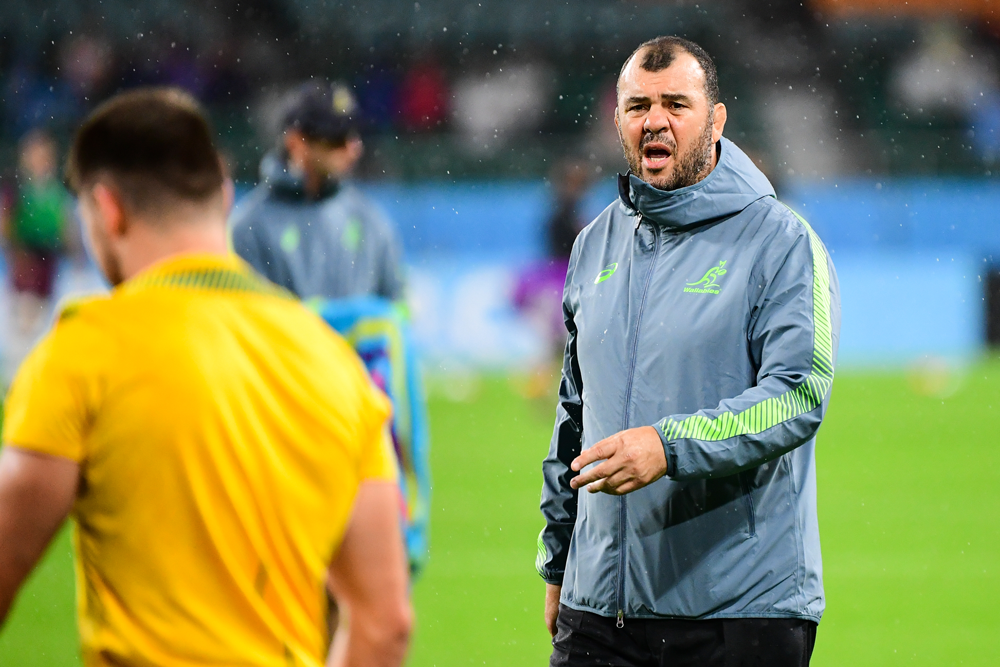 Dave Rennie had praise for Michael Cheika. Photo: RUGBY.com.au/Stuart Walmsley