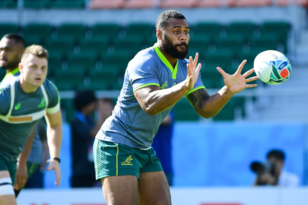 Samu Kerevi has played 33 Tests for the Wallabies. Photo: RUGBY.com.au/Stuart Walmlsey