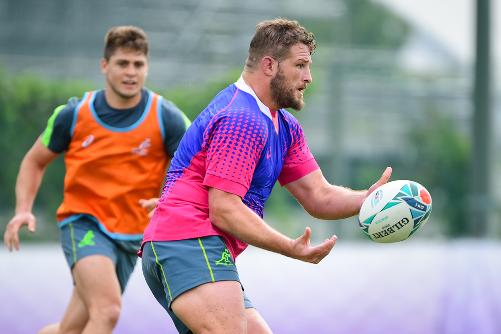 James Slipper is preparing for a big occasion this week. Photo: RUGBY.com.au/Stuart Walmsley