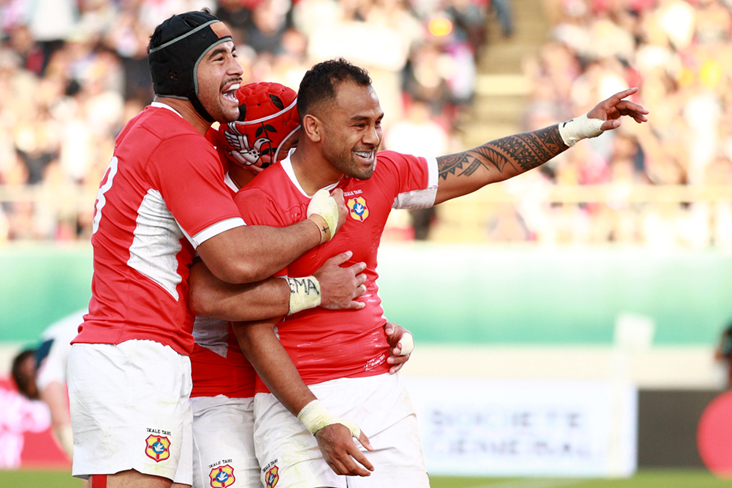 Tonga beat the USA in their final pool game. Photo: Getty Images