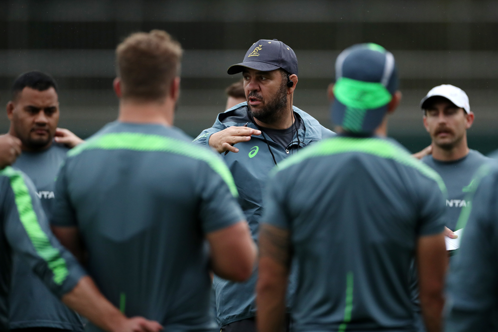 Michael Cheika resigned after Australia's quarter-final loss to England. Photo: Getty Images