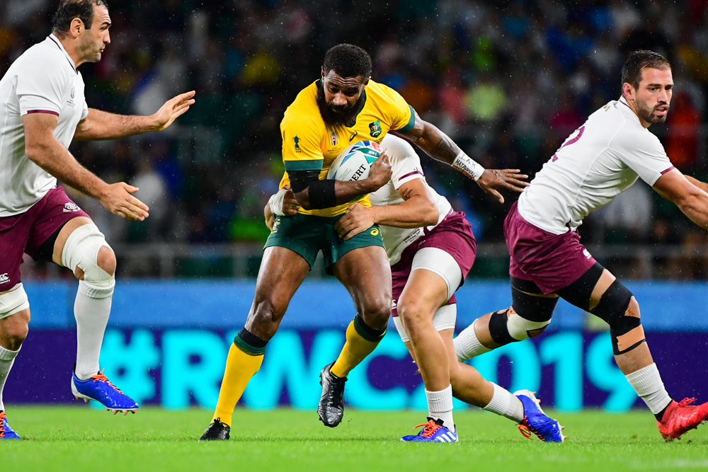 Marika Koroibete is adding another dangerous asset to his arsenal in 2019. Photo: RUGBY.com.au/Stuart Walmsley
