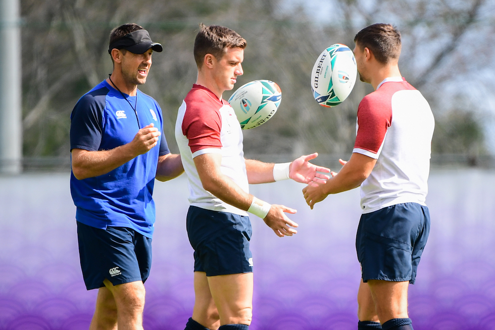 Scott Wisemantel was with England in his most recent coaching stint. Photo: RUGBY.com.au/Stuart Walmsley