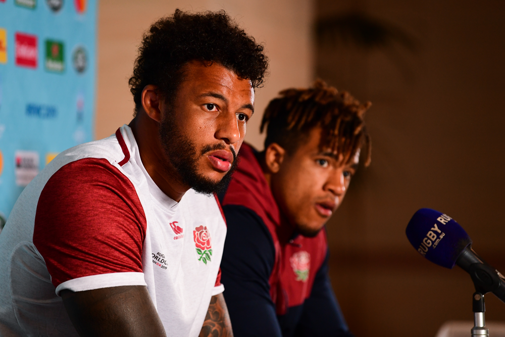 Courtney Lawes is confident that England is battle-hardened despite a two-week rest. Photo: RUGBY.com.au/Stuart Walmsley