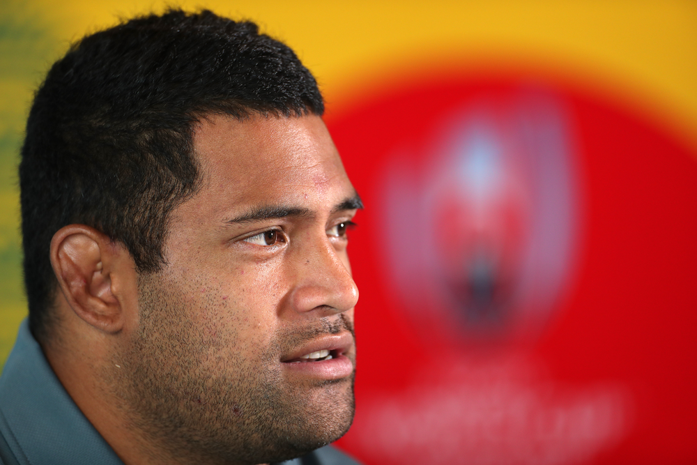 Scott Sio says the Wallabies are well aware of the forward challenge facing them this weekend. Photo: Getty Images