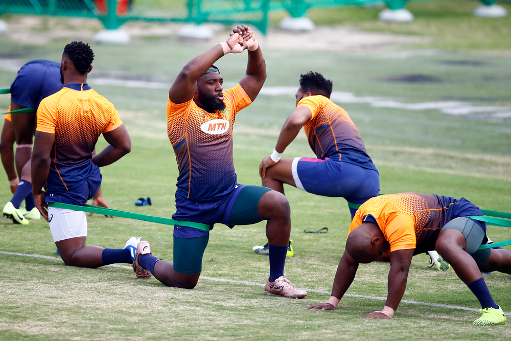 The Springboks are looking for more than just a physical effort against Japan. Photo: Getty Images