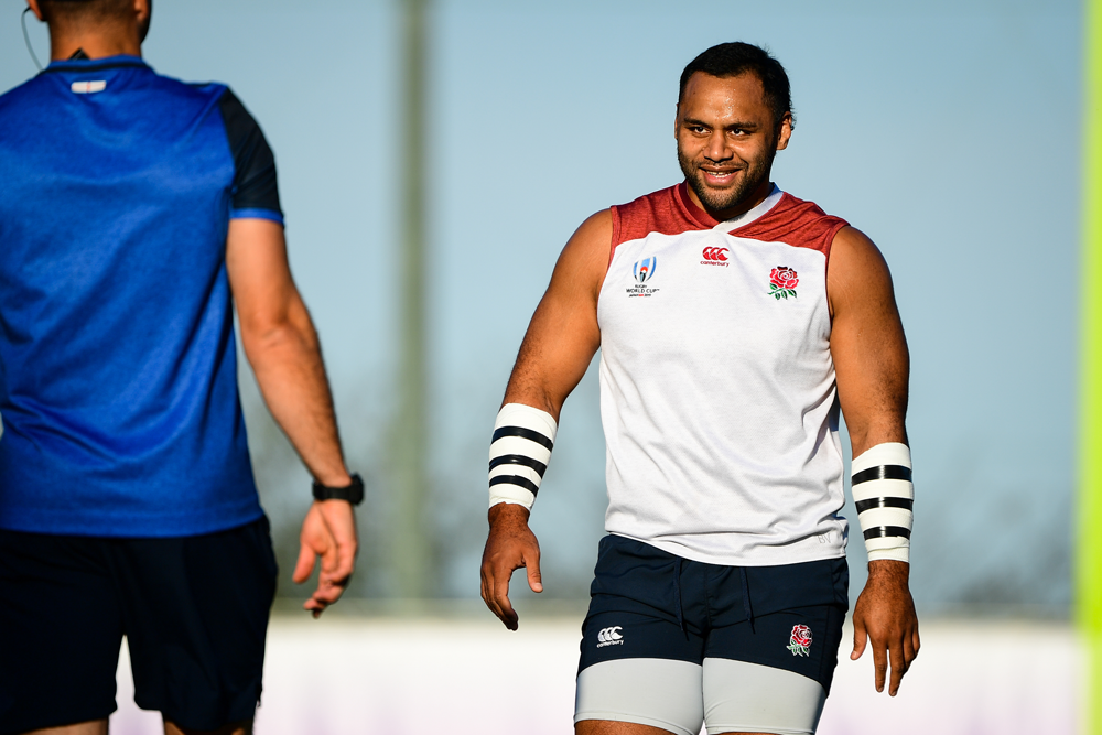 Billy Vunipola has broken his arm. Photo: Getty Images