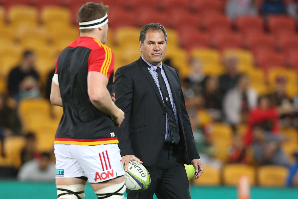 Dave Rennie coached the Chiefs to two consecutive titles in 2012 and 2013. Photo: Getty Images