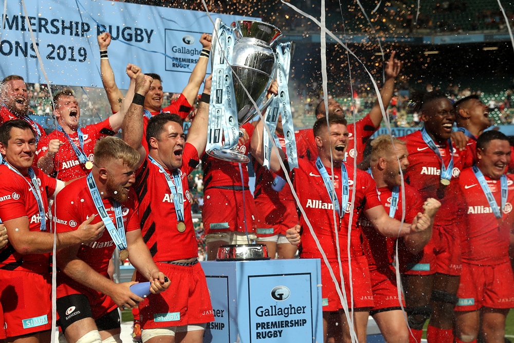 Saracens are at risk of relegation. Photo: Getty Images