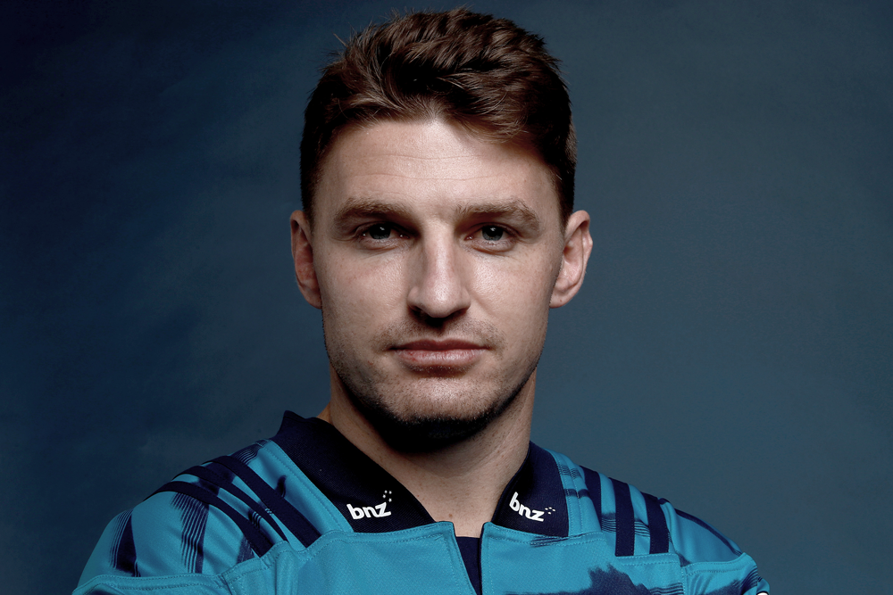 Beauden Barrett has been officially unveiled in the 2020 Blues squad. Photo: Getty Images