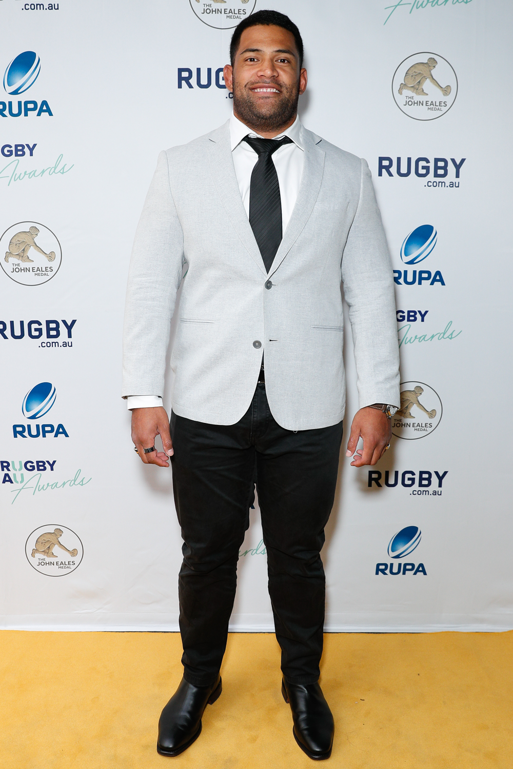 Scott Sio travelled solo at Thursday night's Rugby Australia Awards. Photo: Getty Images