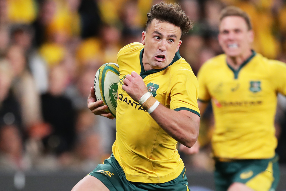 Tom Banks just missed the cut for Australia's Rugby World Cup squad. Photo: Getty Images