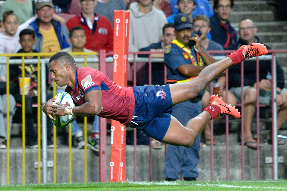 Filipo Daugunu has shown some exciting signs with the Reds. Photo: AFP