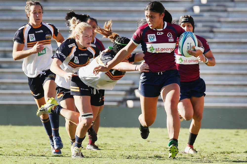 Alysia Lefau-Fakaosilea is a star of the rugby future. Photo: Getty Images
