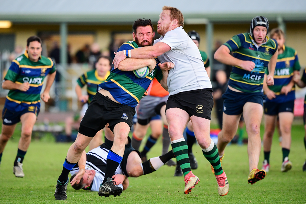 Action from June's matches in Maroondah. Photo: Rugby AU Media/Stuart Walmsley