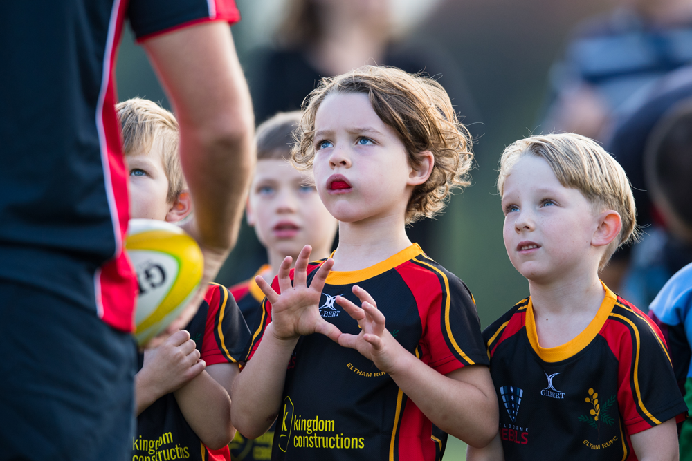 Many Vic Masters members are also involved in junior rugby. Photo: Rugby AU Media/Stuart Walmsley