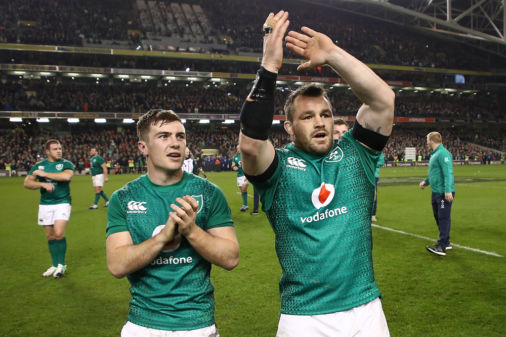 Cian Healy has been an international force with Ireland. Photo: Getty Images
