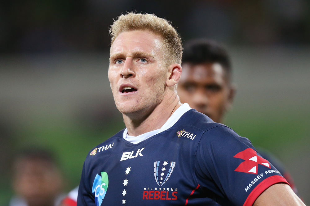 Reece Hodge is on track to be one of the Rebels' longest-serving players. Photo: Getty Images