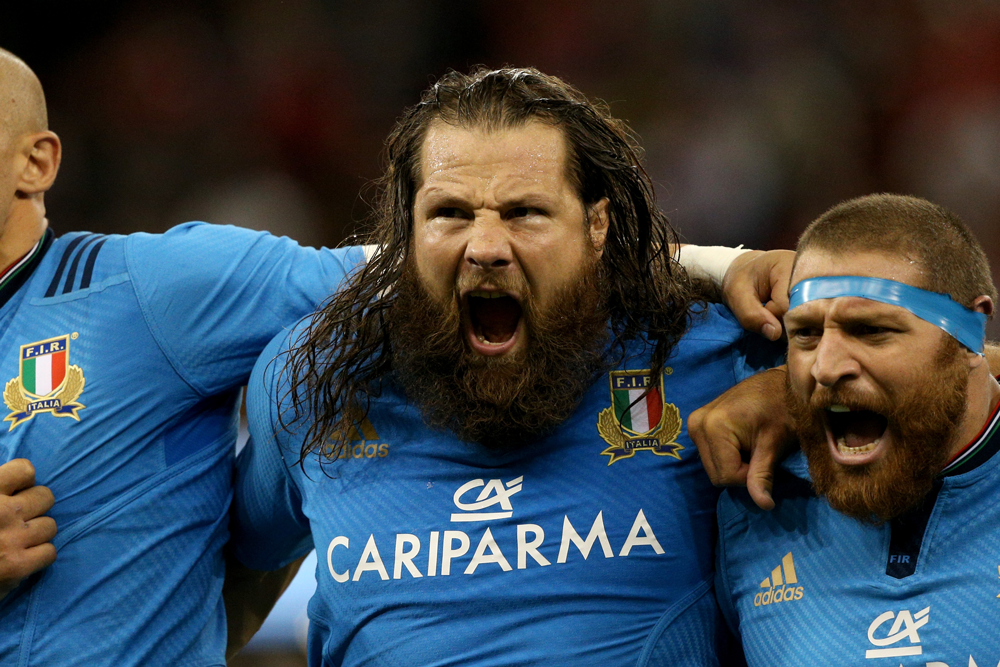 Martin Castrogiovanni has been a fixture of the Italian side. Photo: Getty Images