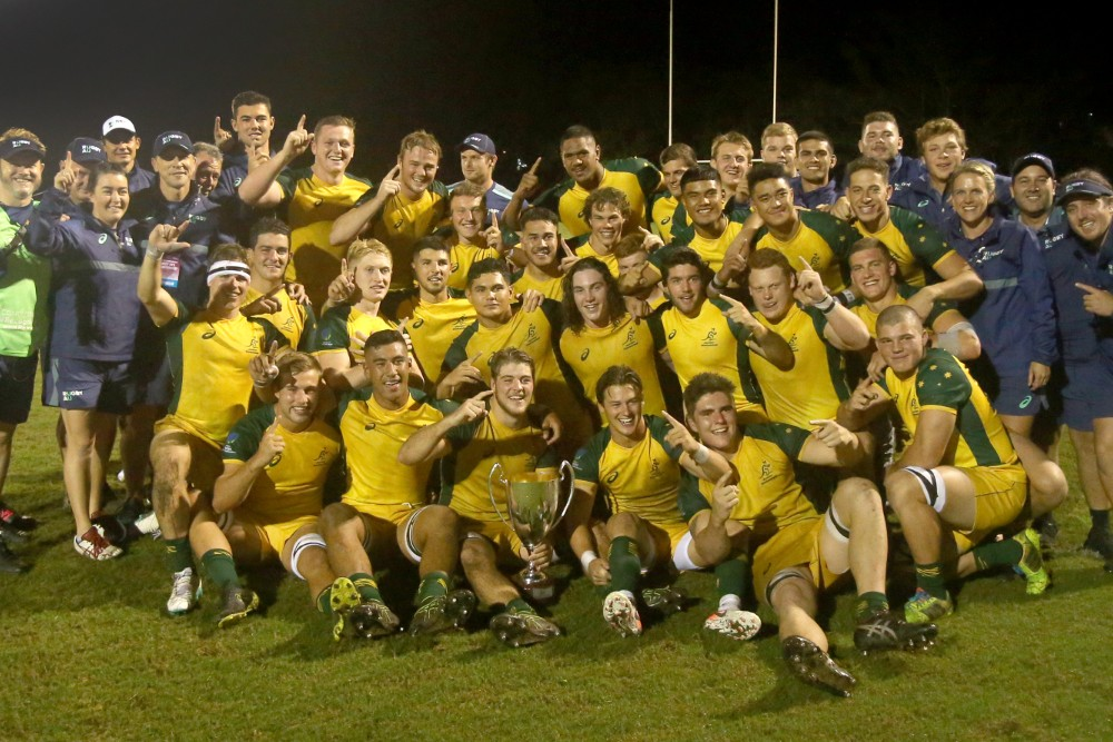 Australia's rejigged talent pathway has reaped some early rewards, including a 2019 Oceania U20s title. Photo: Sportography