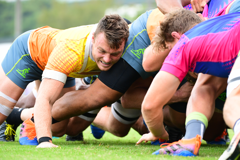 Jack Dempsey will be pushing his claims for a quarter-final berth against Georgia. Photo: RUGBY.com.au/Stuart Walmsley