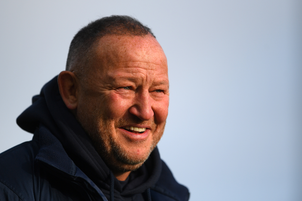 Steve Diamond has been fined for his comments about match officials. Photo: Getty Images