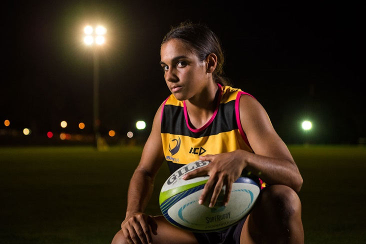 Courtney Hodder burst onto the scene with RugbyWA back in 2018 but has since moved to QLD. Photo: RUGBY.com.au/Stuart Walmslwy