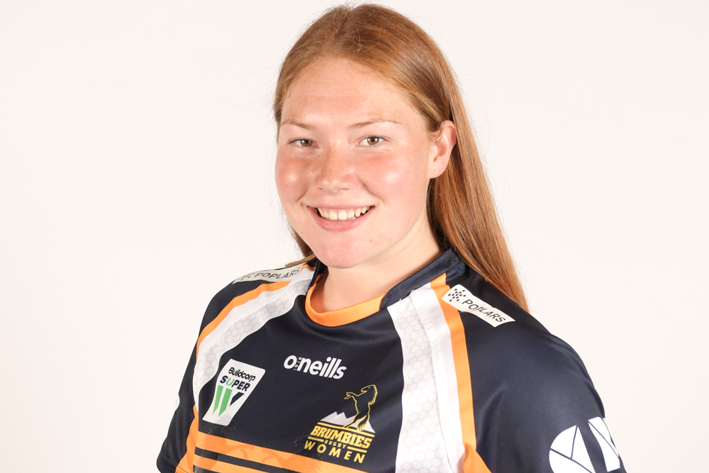 Grace Kemp is one of the youngest Brumbies Super W players. Photo: Getty Images
