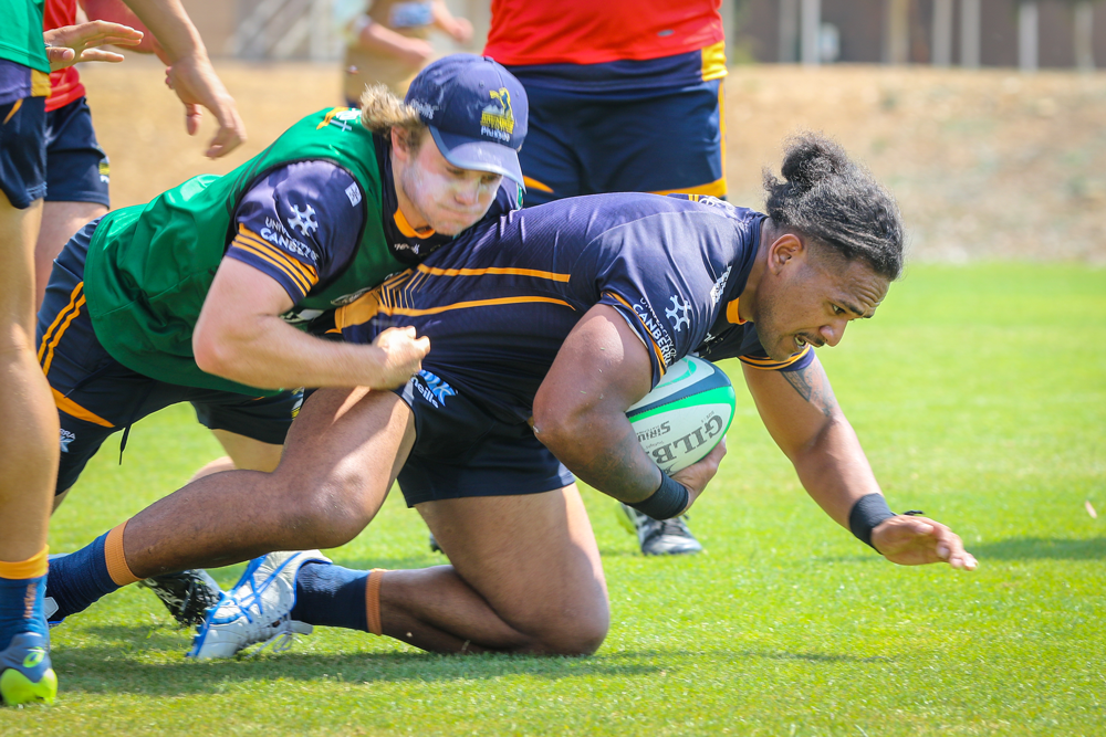 Solomone Kata's transition back into rugby has been smooth. Photo: Brumbies Media
