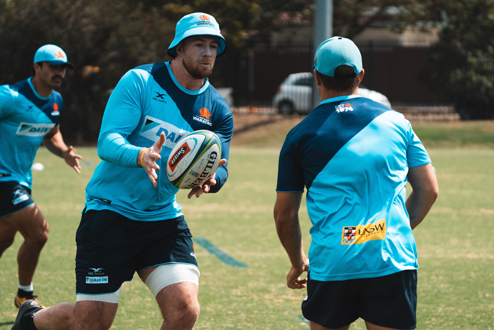 Jed Holloway is one of a number of Waratahs looking to step up in 2020. Photo: Waratahs Media