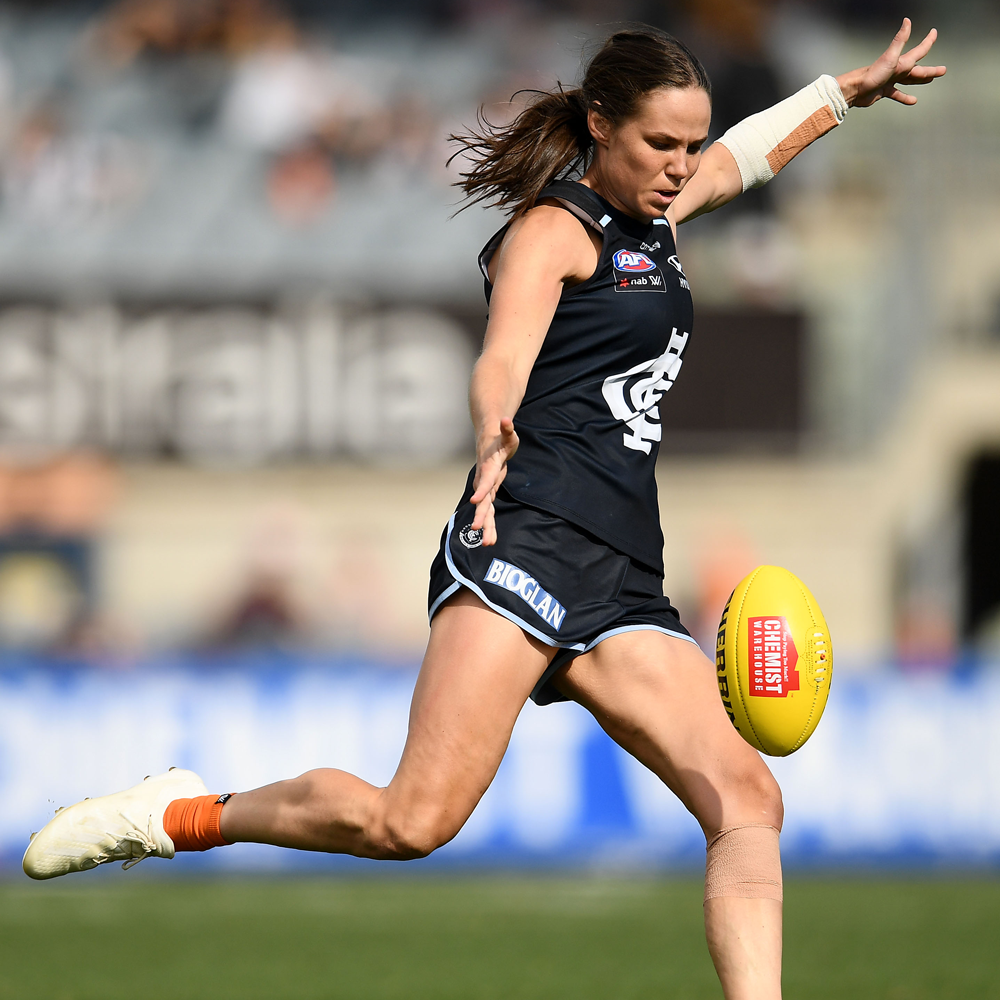Chloe Dalton in action for Carlton. Photo: Getty Images