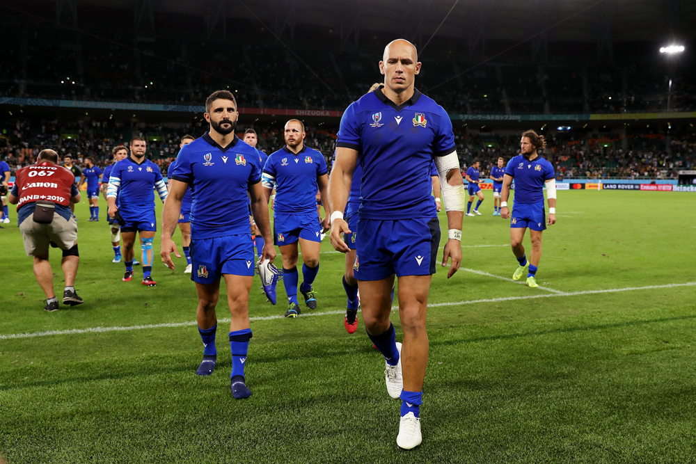 Sergio Parisse has been omitted from Italy's Six Nations squad but is still expected to feature in a farewell game during the tournament. Photo: Getty Images