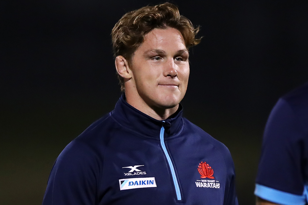 Michael Hooper has stood down as Waratahs captain. Photo: Getty Images