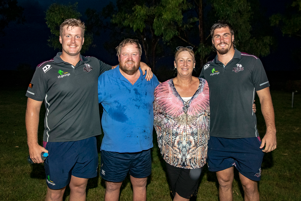 The Hooperts had the Reds over for dinner in Dalby. Photo: Getty Images