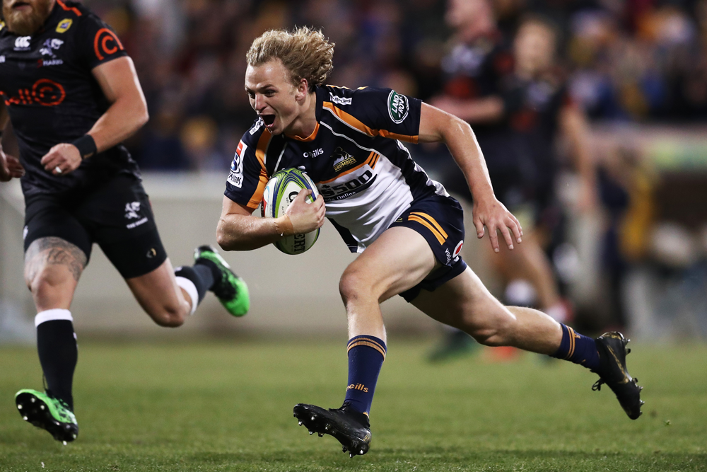 Joe Powell is ready to take on more responsibility at the Brumbies. Photo: Getty Images