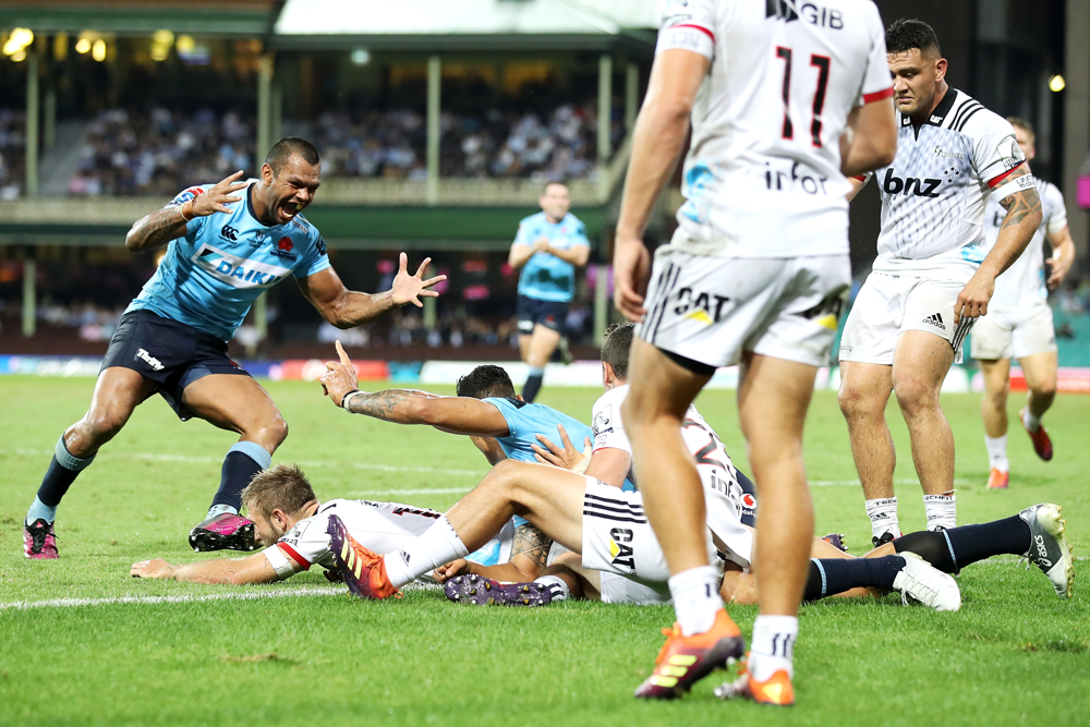The Waratahs beat the Crusaders in their last matchup. Photo: Getty Images
