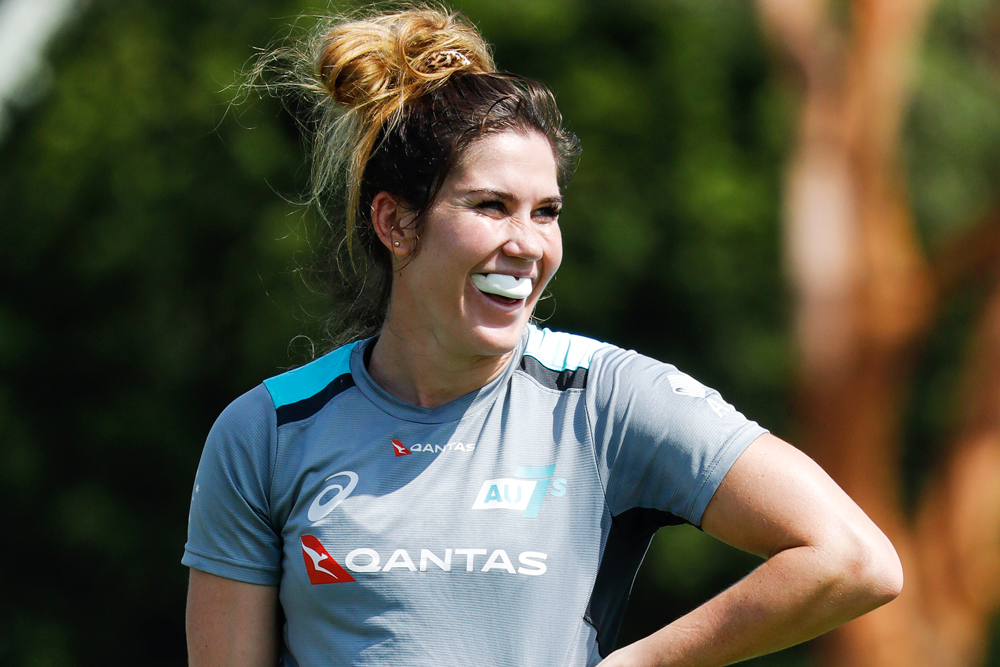 Charlotte Caslick is excited about making her Sydney comeback. Photo: Karen Watson