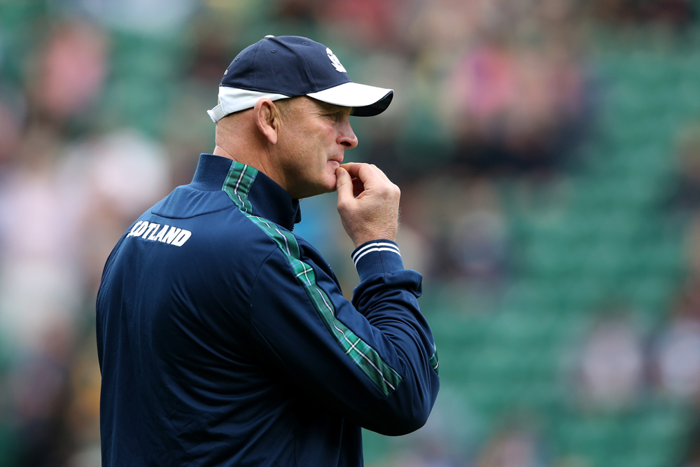 Vern Cotter coached Scotland in the 2015 Rugby World Cup. Photo: Getty Images
