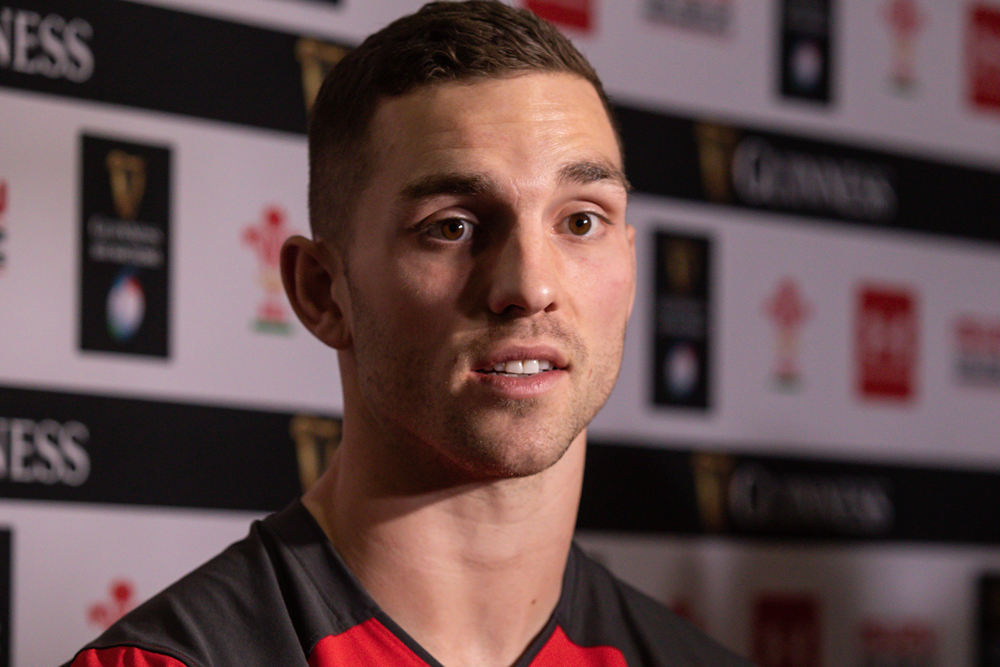 George North will play at centre for Wales in the opening Six Nations clash. Photo: Getty Images