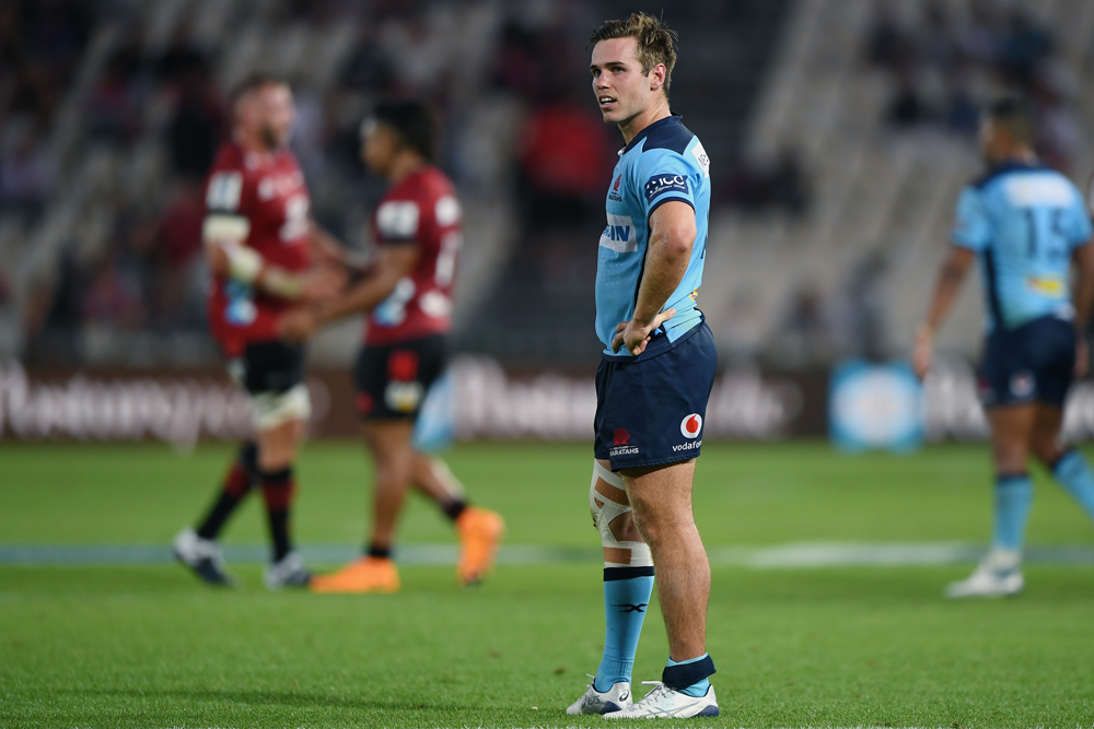 Will Harrison made his Super Rugby debut on Saturday night in New Zealand. Photo: Getty Images