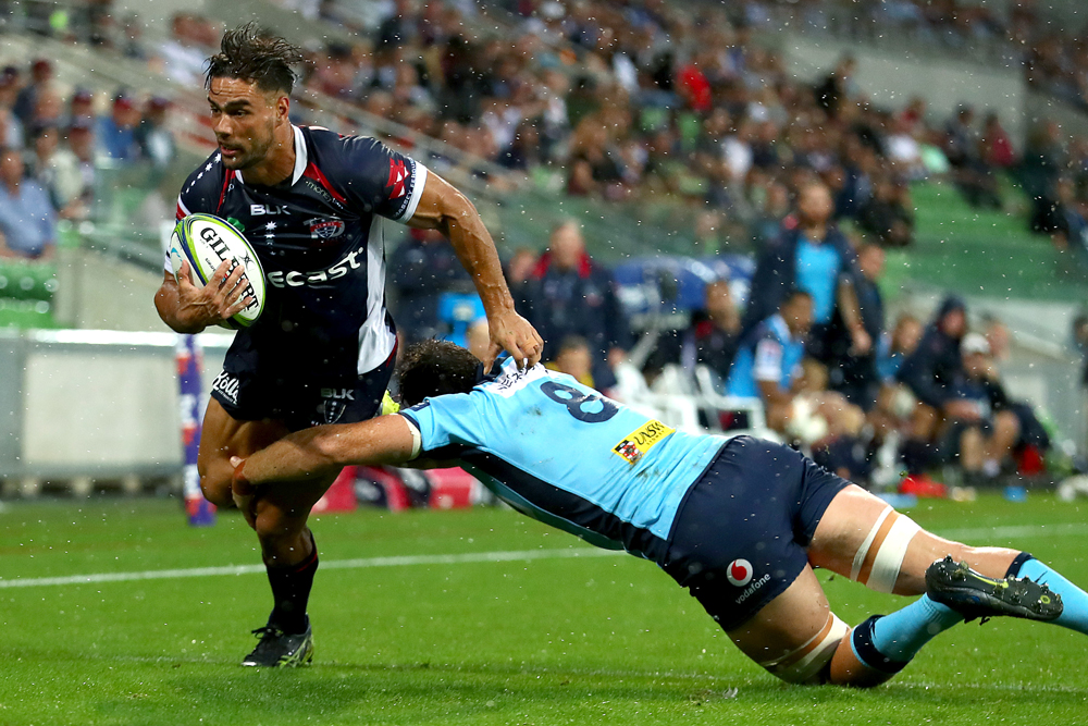 Ryan Louwrens started for the Rebels in Melbourne. Photo: Getty Images