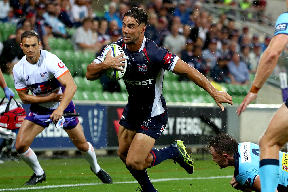 Ryan Louwrens was impressive for the Rebels. Photo: Getty Images