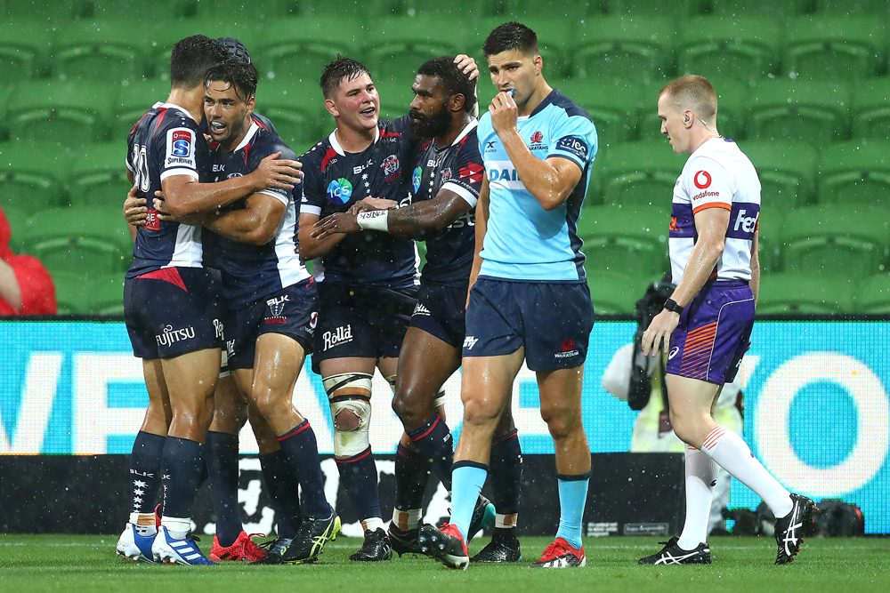 The Rebels notched their first win of 2020 on Friday night. Photo: Getty Images